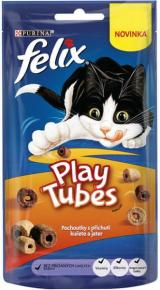 Felix Play Tubes Kuře A Játra 8X50 G