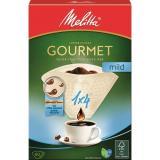 Filtr Melitta 1 x 4, 80 ks Gourmet Mild