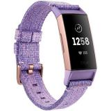 Fitbit Charge 3 Lavender Woven / Rose-Gold Aluminium