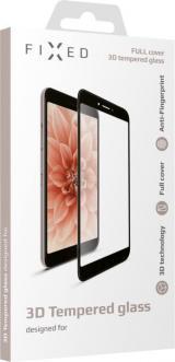 Fixed Ochranné tvrzené sklo Full-Cover pro Nokia 2.2, lepení přes celý displej, černé, FIXGFA-431-BK