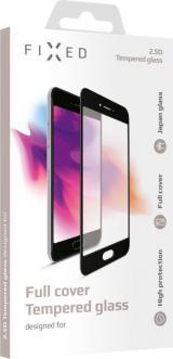 Fixed Ochranné tvrzené sklo Full-Cover pro Xiaomi Mi A3, lepení přes celý displej, černé, FIXGFA-410-BK