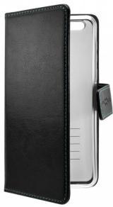 Fixed Pouzdro typu kniha Opus pro Motorola One Vision, černé