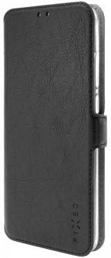 Fixed Tenké pouzdro typu kniha Topic pro Huawei Y5  FIXTOP-408-BK, černé