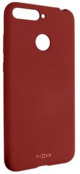 Fixed Zadní Silikonový Kryt Story Pro Huawei y6 Prime , Červený Fixst-294-Rd
