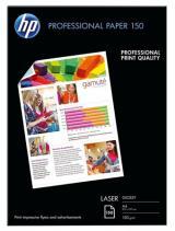 Fotografický papír, do laserové tiskárny, lesklý, A4, 150g, HP, bal. 150 ks, CG965A