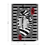 Fototapeta - Cupcake Stripes Grey Papírová tapeta  - 184x254 cm