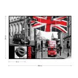 Fototapeta - London Papírová tapeta  - 368x254 cm