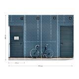 Fototapeta - No Bikes Please Vliesová tapeta  - 416x290 cm