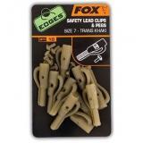 FOX Edges Lead Clip   Pegs Velikost 7 Trans Khaki 10 10ks