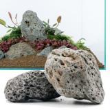 Galapážský kámen - 100 cm Set: 10 přírodních kamenů, cca. 13 kg