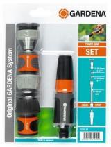 Gardena Základní Vybavení Pro Rychlé Propojení Vodovodního Kohoutku S Hadicí