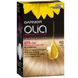 Garnier Permanentní olejová barva na vlasy bez amoniaku Olia 7G Dark Greige
