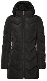 GEOX Dámská bunda Annya Long Jkt Black W8428C-T2506-F9000 40