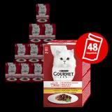Gourmet Mon Petit Multipack 8x Kuře, Kachna, Krůta Ve Šťávě