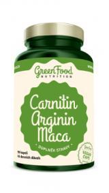 GreenFood Nutrition Carnitin Arginin Maca 90cps