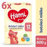 Hami 12  Vanilka 6 X 600g