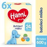 Hami 24  Batolecí Mléko 6 X 600g