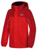 Hannah dívčí outdoorová bunda Supply 140 červená