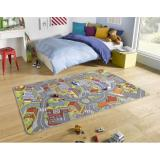 Hanse Home Collection koberce Kusový koberec Play 102379,   140x200 cm Šedá - Vrácení do 1 roku ZDARMA