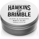 Hawkins & Brimble Natural Grooming Elemi & Ginseng matující pomáda na vlasy
