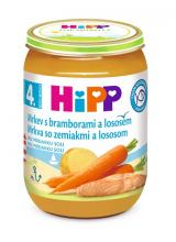 HiPP BABY Karotka s bramborami a lososem 190g,HiPP BABY Karotka s bramborami a lososem 190g