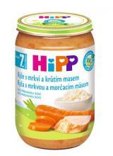 HIPP JUNIOR BIO Rýže s karotkou a krůtím masem 220g,HIPP JUNIOR BIO Rýže s karotkou a krůtím masem 220g