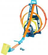 Hot Wheels Track Builder Trojitá smyčka