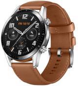 Huawei Watch GT 2, hnědá kůže