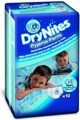 Huggies DryNites Boy vel. M 17-30 kg absorpční kalhotky 10 ks