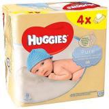 HUGGIES Pure Quatro Pack