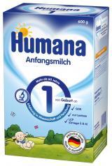 Humana 1 od narození 600 g