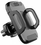 IMMAX nabíječka pro mobily QI0003/ bezdrátová/ do auta s automatickým uchycením/ 10,5 x 6,7 x 9,4cm/ černá