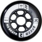 Inline kolečka K2 90 mm 8ks   ložiska ILQ 9