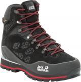 Jack Wolfskin pánská obuv Wilderness Peak Texapore Mid M  43 černá