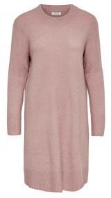 Jacqueline de Yong JDYCREA TREATS L/S NOOS DRESS KNT Woodrose XL