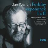 Jan Werich – Forbíny vzpomínek I a II – CD