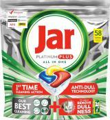 Jar kapsle na nádobí Platinum Plus Yellow 58ks