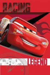 Jerry Fabrics Fleecová deka Auta závodní legenda