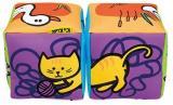 K´S Kids Zábavné Textilní Kostky - Zvířátka