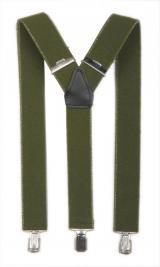 Kalhotové šle Anton - olivové