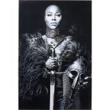 Kare Skleněný Obraz Lady Knight 150×100 Cm