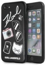 Karl Lagerfeld Pins Hard Case Black Pro Iphone 7 / 8 klhci8pin