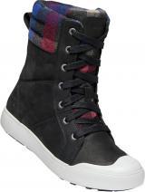 KEEN Dámské kotníkové boty Elena Boot Black/Plaid 41