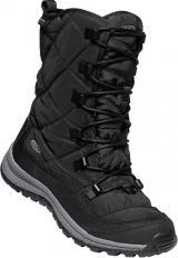KEEN Dámské sněhule Terradora Lace Boot Wp Black/Steel Grey 39