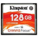 Kingston Compact Flash 128GB Canvas Focus