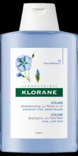 KLORANE Lin šampon pro jemné vlasy 400ml,KLORANE Lin šampon pro jemné vlasy 400ml