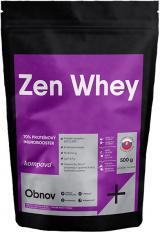 Kompava Protein Zen Whey 70% 500g - čokoláda - višeň, sladidlo stévie,Kompava Protein Zen Whey 70% 500g - čokoláda - višeň, sladidlo stévie