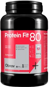 Kompava ProteinFit 80 2000g, banán,Kompava ProteinFit 80 2000g, banán