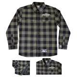 Košile zateplená dlouhý rukáv BLACK HEART Duke Lined šedá - XXL