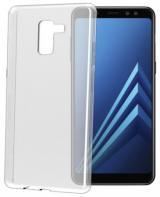 Kryt na mobil Celly Gelskin pro Samsung Galaxy A8  - průhledný